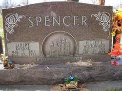 Violet Letticia <I>Woodward</I> Spencer