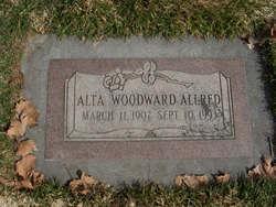 Alta <I>Woodward</I> Allred