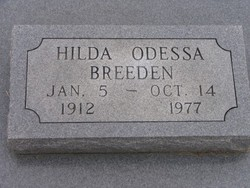 Hilda Odessa <I>Hunt</I> Breeden