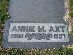 Annie Mary <I>Mauch</I> Axt