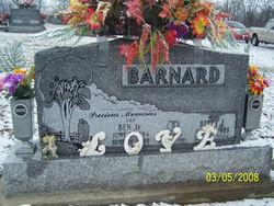 "Benjamin Harrison ""Ben"" Barnard, Jr"
