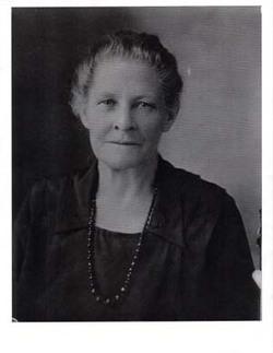 Augusta Henrietta Wilhelmene <I>Backhaus</I> Aben