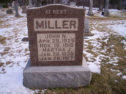 Martha Jane <I>Shipp</I> Miller
