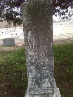 Matilda Jane <I>Swaim</I> Robinson