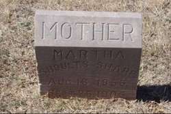 Martha <I>Shoults</I> Sharp