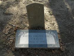 Martha Virginia <I>Oakes</I> Cravey