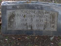 Abram/Abraham Hensarling