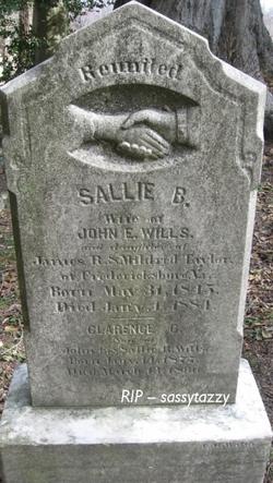 Sallie B. <I>Taylor</I> Wills