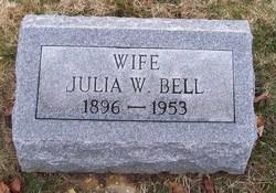 Julia <I>Williams</I> Bell