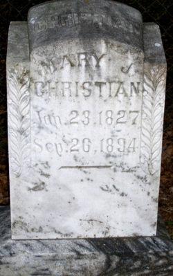 Mary J Christian