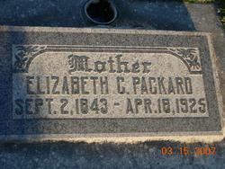 Elizabeth <I>Clucas</I> Packard