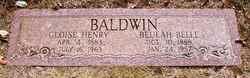 Beulah Belle <I>Sharp</I> Baldwin