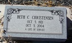 Beth C Christensen