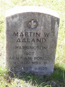 Martin William Aaland