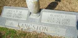 Blanche <I>Parker</I> Langston