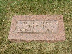 Myrtle <I>Rude</I> Boyle