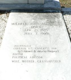 """Mildred """"Millie"""" <I>Johnson</I> Dorn"""