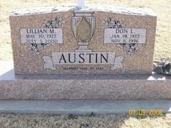"""Lillian May """"Babe"""" <I>Hall</I> Austin"""