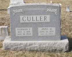 Anna Mary Cordelia <I>Huffer</I> Culler