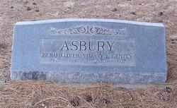 Mary A. L. <I>Gentry</I> Asbury