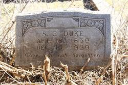 Sarah Elizabeth <I>Thomas</I> Duke