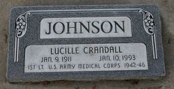 Lucile <I>Crandall</I> Johnson