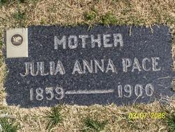 Julia <I>Ivins</I> Pace