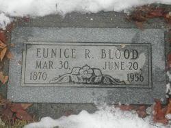 Eunice Mary <I>Robins</I> Blood