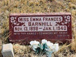 Emma Frances Barnhill