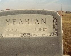 Sidney Yearian
