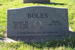 Donald Melvin Boles