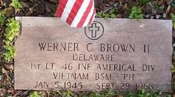 1LT Werner Curt Brown, II