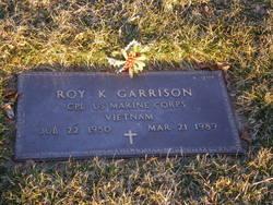 Roy K Garrison