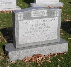 "1LT Lawrence Douglass ""Larry"" Greene"