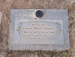 Louise Marie <I>Leonard</I> Abshire