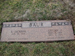 Lillian <I>Jacoby</I> Baur