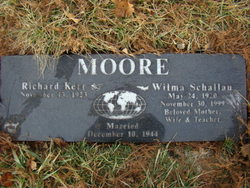 Wilma <I>Schallau</I> Moore