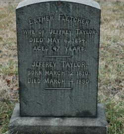 Esther <I>Fletcher</I> Taylor