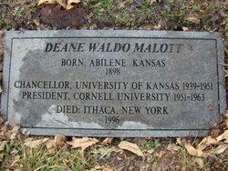 Deane Waldo Malott