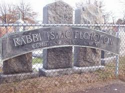 Rabbi Isaac Elchonon Cemetery