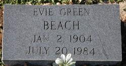 """Eva """"Evie"""" <I>Green</I> Beach"""