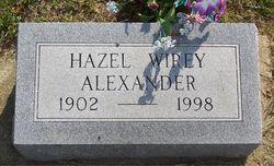 Hazel Pearl <I>Wirey</I> Alexander