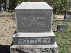 Ida E <I>Hammond</I> Mottley