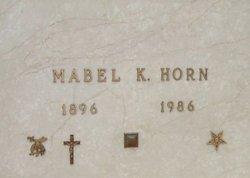 Mabel Kathleen <I>Eseke</I> Horn