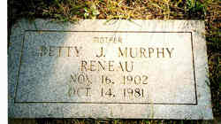 "Betty Jeanette ""Janie"" <I>Murphy</I> Reneau"