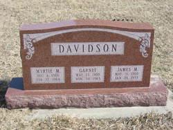 Myrtie May <I>Hulett</I> Davidson