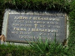 Joseph P Bernardoni