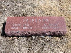 Ruth Ann <I>Allard</I> Fairbank