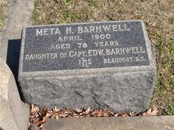 """Margaret Harriet """"Meta"""" Barnwell"""