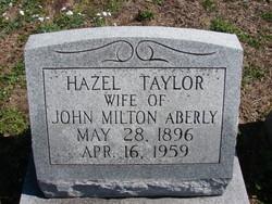 Hazel Clare <I>Taylor</I> Aberly